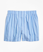 Brooks Brothers Traditional Fit Thick and Thin Stripe