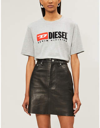 Diesel T-Just-Division branded cotton-jersey T-shirt