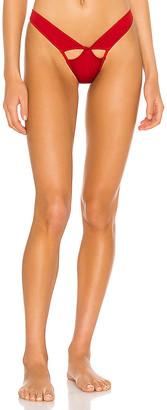 MONICA Hansen Beachwear Elastic Detail Bikini Bottom