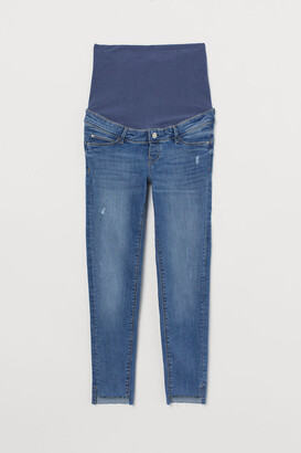 H&M MAMA Push Up Ankle Jeggings - Blue