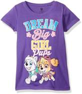 Nickelodeon Little Girls' Paw Patrol Pups Dream Big the Princess Tee