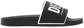 Diesel Logo Rubber Slide Sandals