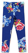 Joules Baby/Little Girls 12 Months-3T Floral-Printed Leggings