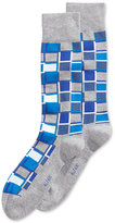 Alfani Men's Cubist Grid Socks, Only at Macy's