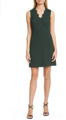 Ted Baker Furnaed Scallop Cocktail Dress