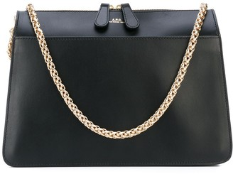 A.P.C. Gold Chain Strap Shoulder Bag