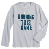 Under Armour Running This Game T-Shirt (Toddler Boys & Little Boys)