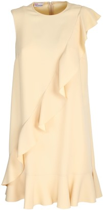 RED Valentino crepe envers satin dress