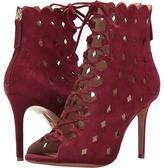 Rachel Zoe Ashlyn Peep-Toe Bootie Women's Dress Lace-up Boots