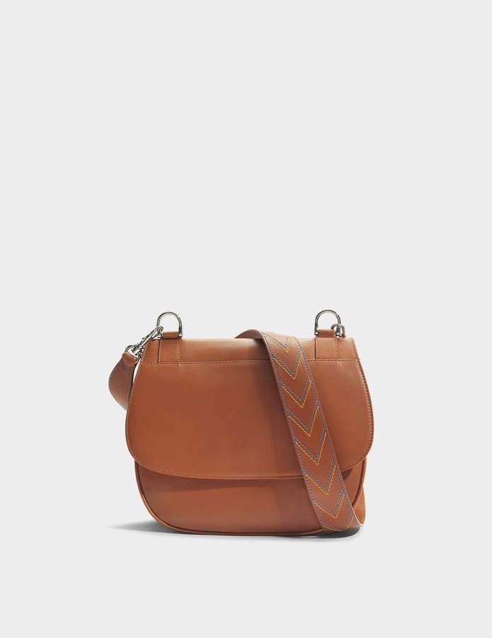Gerard Darel You Hobo Bag in Camel Calfskin