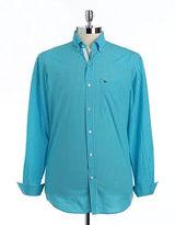 Lacoste Cotton Button-Down Sport Shirt
