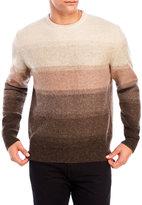 Weatherproof Shetland Wool Stripe Sweater
