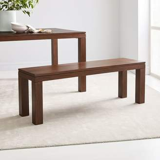west elm Canyon Solid Wood Dining Bench