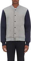 Barneys New York MEN'S COLORBLOCKED BONDED BOMBER JACKET