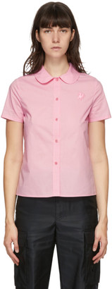 Marc Jacobs Pink Heaven by Tiny Teddy Collared Short Sleeve Shirt