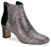 Donald J Pliner Leather Square Toe Ankle Boots