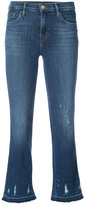 J Brand Selena cropped jeans - women - Cotton/Spandex/Elastane/Lyocell - 24