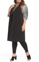 Melissa McCarthy Plus Size Women's Open Front Longline Vest