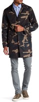 Jack Spade Camouflage Packable Rain Jacket