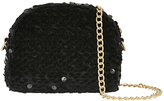 Accessorize Aariya Sequin Dome Cross Body Bag