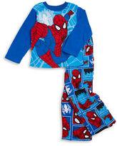AME Sleepwear Spiderman Fleece Pajama Set