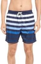 Paul & Shark Men's Stripe Swim Trunks