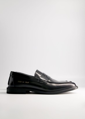 Common Projects Men's Loafer in Black, Size 45 | Leather