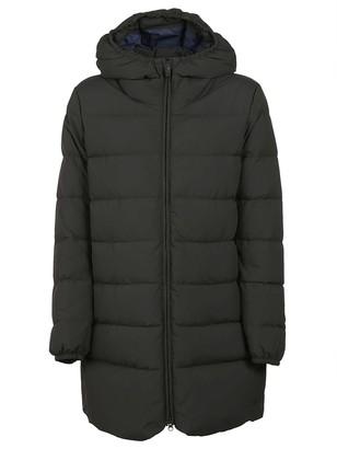 Aspesi Hooded Long Padded Jacket