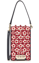 Zac Posen Floral Earthette Party Bag