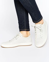 Lacoste Tamora Lace Up 1 Leather Sneakers