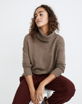 Madewell (Re)sourced Cashmere Turtleneck Tunic Sweater