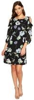 Christin Michaels Juliet Long Sleeve Printed Dress Women's Dress