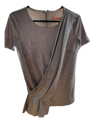 Matthew Williamson silver Polyester Tops