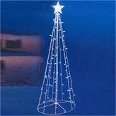Asstd National Brand 5' Blue & White LED Lighted Outdoor Twinkling Christmas Tree Yard Art