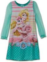 Disney Little Girls Aurora Palace Pets Gown Long Sleeve K157451PN