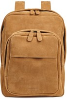 Common Projects Brown Suede Backpack