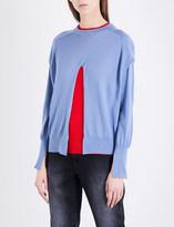 Toga Detachable-layer wool jumper