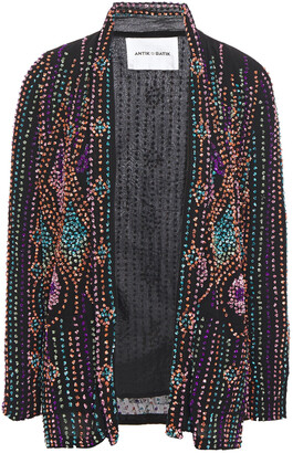 Antik Batik Bead And Sequin-embellished Georgette Jacket