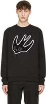 McQ by Alexander McQueen Black Swallow Clean Pullover