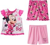 Disney's Minnie Mouse Toddler Girl 3-pc. Pajama Set