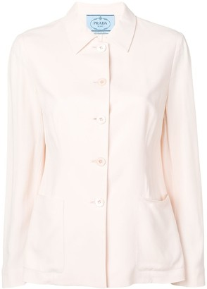 Prada Pre-Owned single breasted blazer