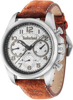 Timberland Men's Smithfield Burnt Orange Leather Strap Watch 46x57mm TBL14769JS13