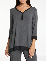 DKNY DNKY Season Silhouette Top, Charcoal