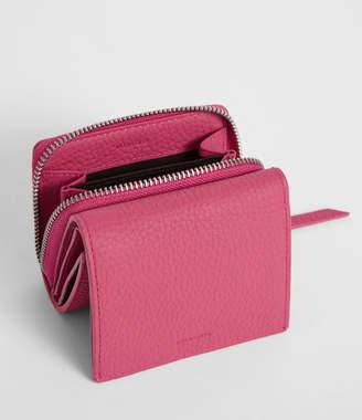 AllSaints Captain Leather Small Wallet