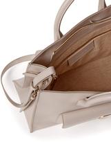 Balenciaga Padlock Convertible Leather Satchel
