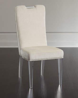 'Teaticket Acrylic Dining Chair, Set of 2' from the web at 'https://img.shopstyle-cdn.com/sim/f1/ec/f1ecf0bc2fdaec420ebab72c2f16495d_xlarge/teaticket-acrylic-dining-chair-set-of-2.jpg'