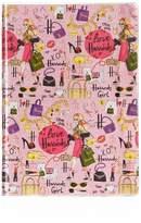Harrods Glamorous City A5 Notebook