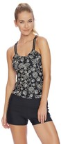 Next Vidya Third Eye 2 Shirred Tankini Top
