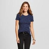 Merona Women's Heather Fitted Crew T-Shirt