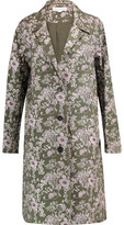 Robert Rodriguez Embroidered Linen-Blend Coat